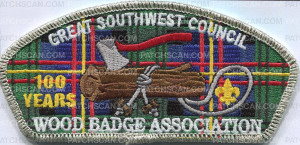 Patch Scan of Great Southwest Council - Woodbadge