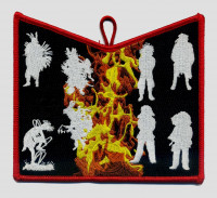 NOAC - Flame Set (Pocket Piece) Suwannee River Area Council #664