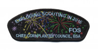 Exploding in Scouting 2016 Chief Cornplanter Council #538