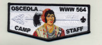 OSCEOLA Camp Staff Flap  Southwest Florida Council #88