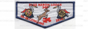 Patch Scan of 2018 Conclave Flap Blue Border (PO 87740)