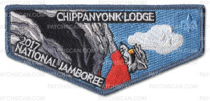 Patch Scan of P24298 2017 Nationla Jamboree Chppanyonk Lodge Flpa_Pocket