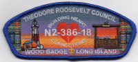 WOOD BADGE BLUE REGULAR Theodore Roosevelt Council #386