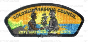 Patch Scan of Colonial Virginia Council 2017 National Jamboree JSP