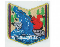 Wisawanik Lodge pocket patch Arbuckle Area Council #468