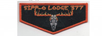 Vigil Flap Orange Border (PO 88097) Buckeye Council #436