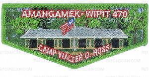 Patch Scan of Amangamek-Wipit 470 Camp Walter Ross flap