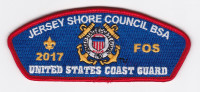 2017 FOS Coast Guard Jersey Shore Council #341