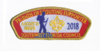 FOS Supporter 2018 - A Scout is Brave CSP Southwest Florida Council #88