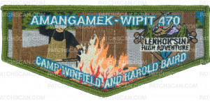 Patch Scan of Amangamek-Wipit 470 Camp Baird flap