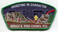 PFFSC FOS 2015 THRIFTY President Gerald R. Ford Council #781