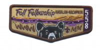AHOALAN-NACHPIKIN Fall Fellowship Flap  Chickasaw Council #558