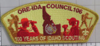 100 years of Scouting -373992-A Ore-Ida Council #106