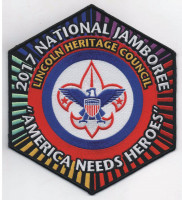 Jamboree Center Patch (PO  Lincoln Heritage Council #205
