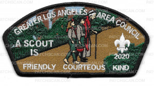 Patch Scan of Greater Los Angeles Area Council