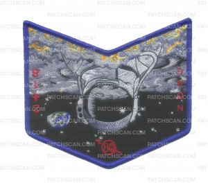 Patch Scan of Astrounaut Pocket Patch NOAC 2018