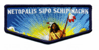 Netopalis Sipo Schipinachk 15th Anniv. flap Longhorn Council #582