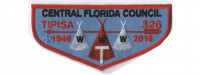 Tipisa 70th Anniversary flap Central Florida Council #83
