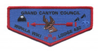 Wipala Wiki Lodge 432 Grand Canyon Council flap Grand Canyon Council #10