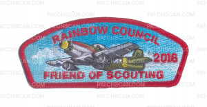 Patch Scan of Rainbow Council - 2016 FOS CSP