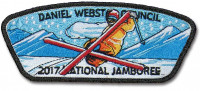 P24198 2017 National Jamboree Set Daniel Webster Council #330