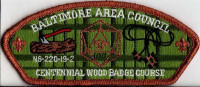 Baltimore Area Council Centennial N6-220-19-2 Wood Badge Course 2019 Baltimore Area Council #220