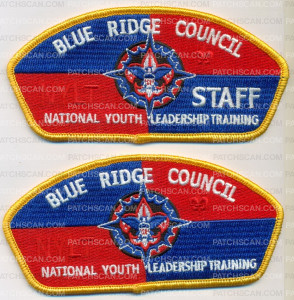 Patch Scan of NYLT BLUE RIDGE COUNCIL STAFF