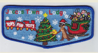 Jaccos Towne 21 Toys for Tots Flap Crossroads of America Council #160