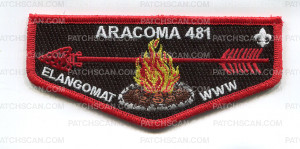 Patch Scan of aracoma lodge elangomat flap