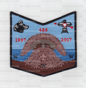 Patch Scan of Nischa Achowalogen 30th Anniversary Flap