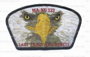 Patch Scan of Last Frontier Council Ma-Nu Eagle Scout CSP
