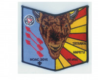 Tatanka Anpetu-Wi NOAC 2015 pocket patch Overland Trails Council #322