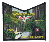 COMAN-DO-GUN 2019 Tri Lodge Pocket Piece De Soto Area Council #13