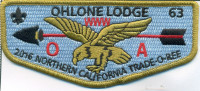 Ohlone Lodge 2016 Northern California Trade-O-Ree Pacific Skyline Council #31