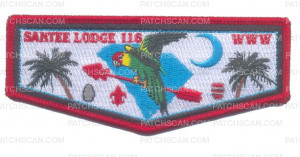 Patch Scan of Santee Lodge 116 Flap