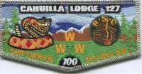Cahuilla Lodge 127 - Pocket flap California Inland Empire Council #45