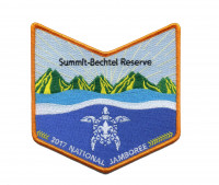 2017 National Jamboree - Summit-Bechtel Scout Reserve - Turtle Pocket Piece Aloha Council #104