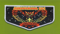 Mikanakawa 101 Conclave 2018 Flap Circle Ten Council #571