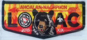 Patch Scan of AHOALAN NACHPIKIN LOAC 2015 FLAP