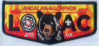 AHOALAN NACHPIKIN LOAC 2015 FLAP Chickasaw Council #558