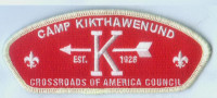 CAMP KIKTHAWENUND RED GLOW CSP Crossroads of America Council #160