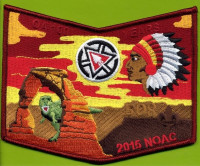 OA 100 Years - 508 NOAC - Pocket Patch Utah National Parks Council #591