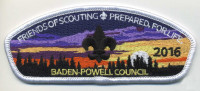 Friends of Scouting - White Border Baden-Powell Council #381