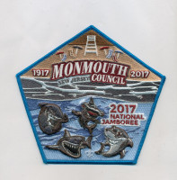 Sharks Pentagon Set Monmouth Council #347