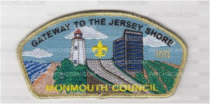 Patch Scan of Monmouth Bridge CSP New 2018-Numbered and Gold Metallic Border