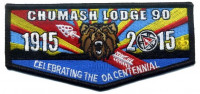 Chumash Lodge 90- Celebrating the OA Centennial Los Padres Council #53