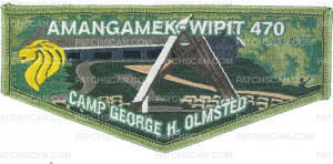 Patch Scan of Amangamek-Wipit 470 Camp Olmsted flap