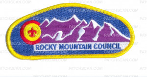 Patch Scan of 152556 - Rocky Mountain Council - Mountain CSP