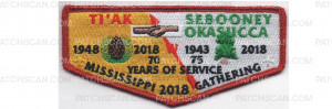 Patch Scan of 2018 Mississippi Gathering Flap (PO 88059)