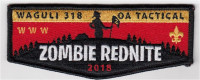 Zombie Rednite Flap 2018 Northwest Georgia Council #100